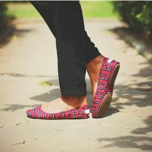 Thando's shoes