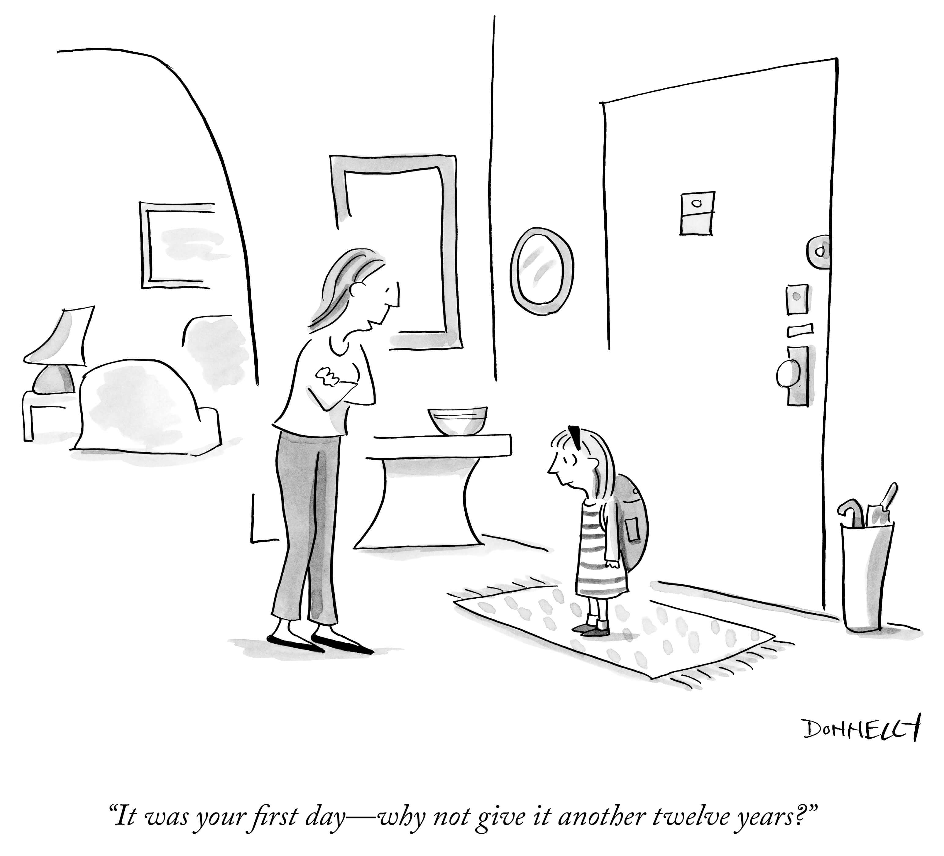 Liza Donnelly's New Yorker Cartoon