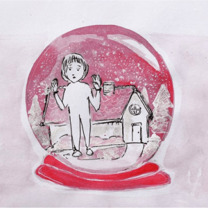 Rukmini Priya Drawing