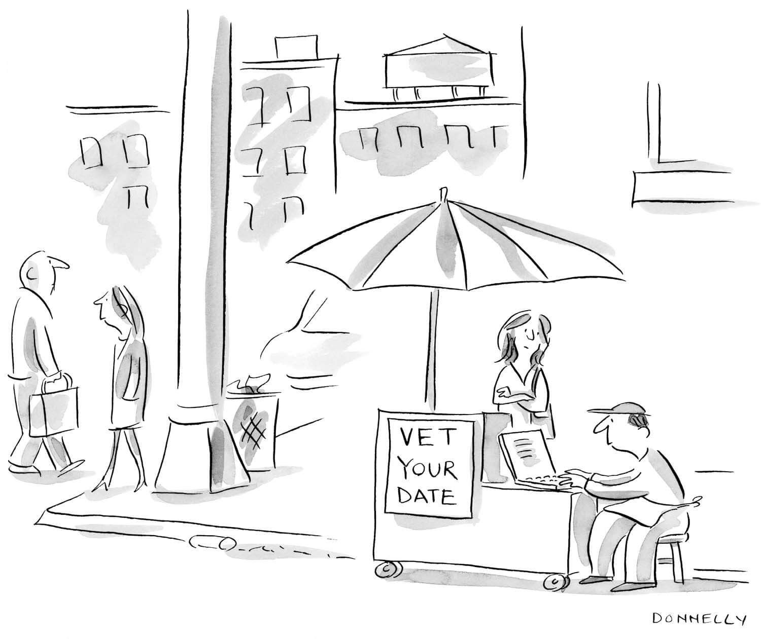 New Yorker Liza Donnelly Cartoon