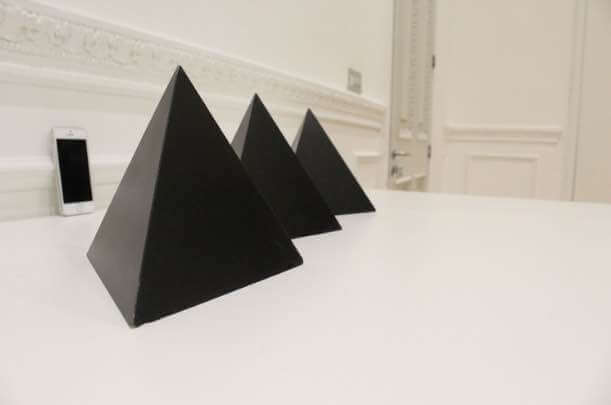 Pyramids Data Art