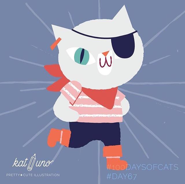 Kat Uno Illustration