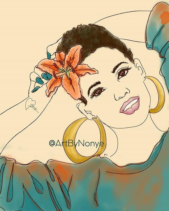 Nonye Okoye Illustration