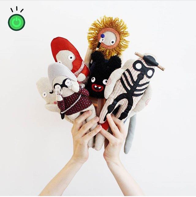 Textile Design Stuffed Animal