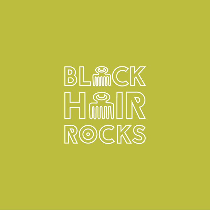 Typography Design for Black Hair