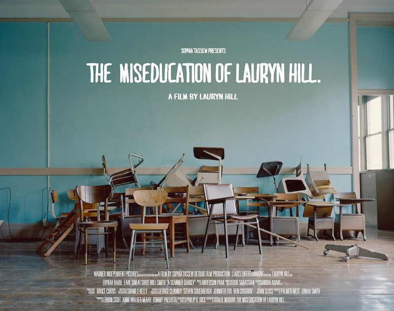 Lauryn Hill album movie poster