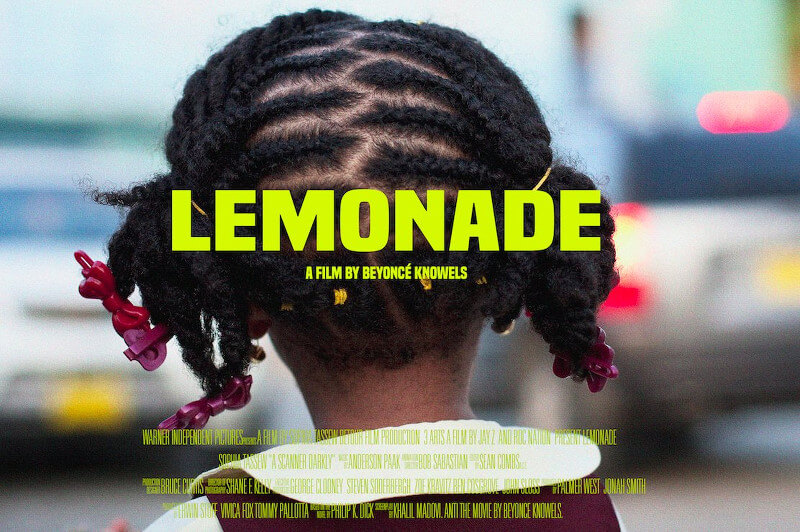 Lemonade album movie poster