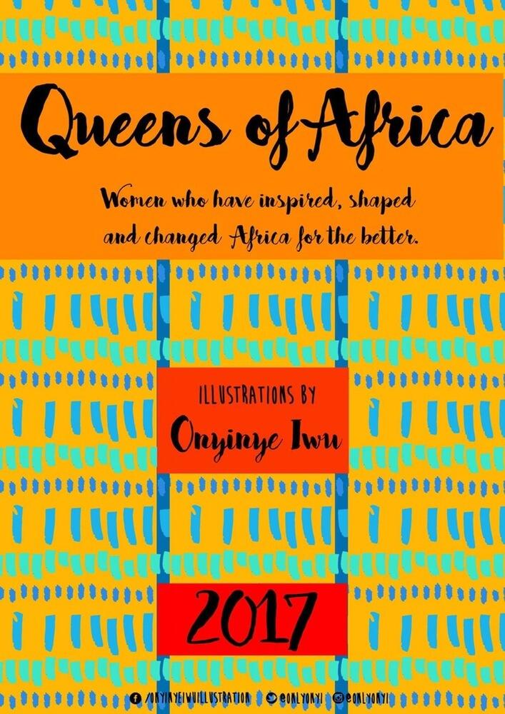 queens of africa calendar