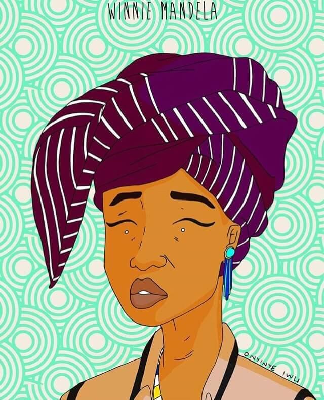 South Africa's Winnie Mandela