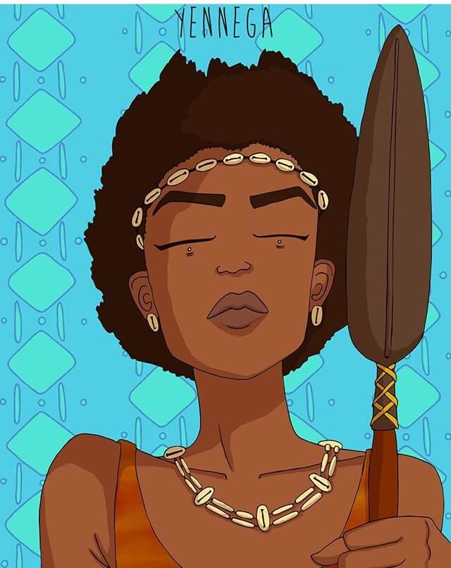 African Legend Yennega