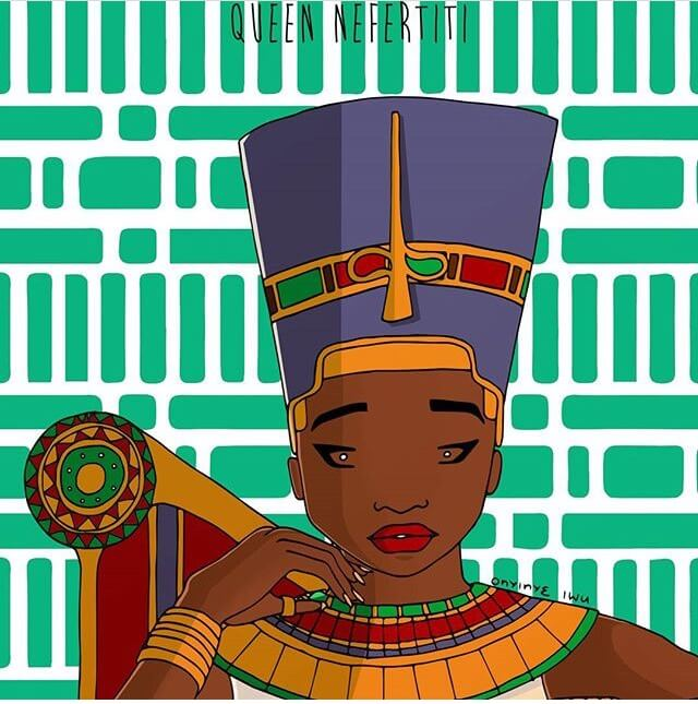 Queen Nefertiti of Egypt, Africa