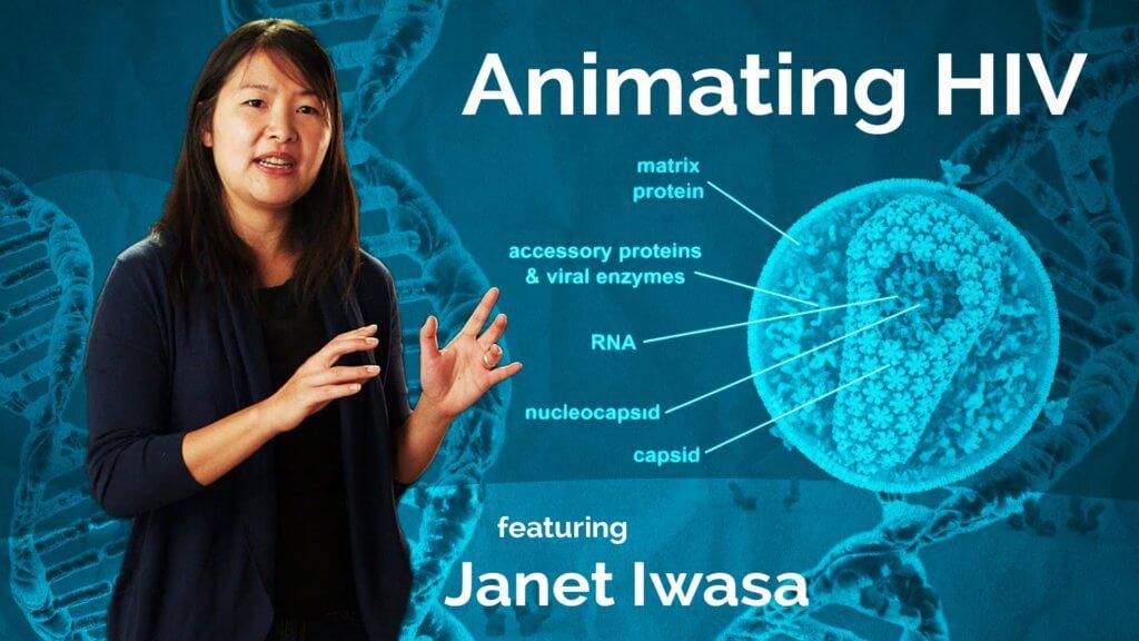 Janet Iwasa molecular animator