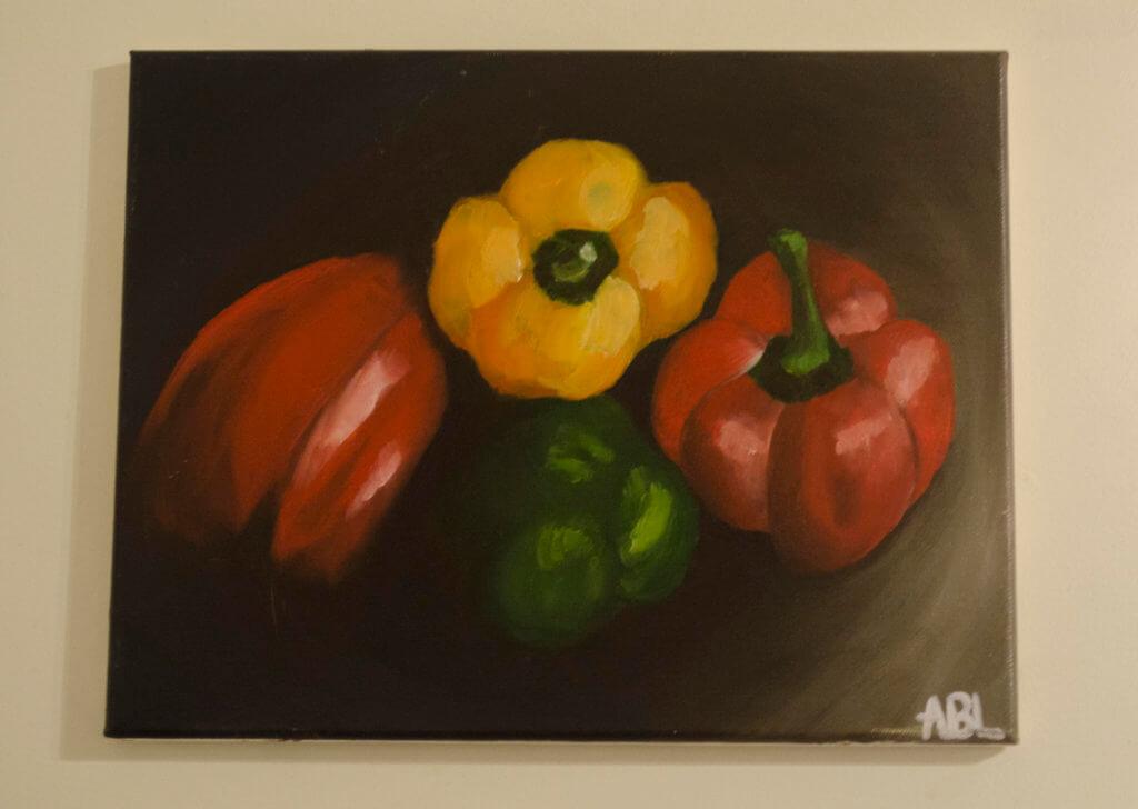 painting tomato