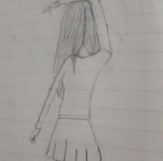 Huda Fatima Sketching
