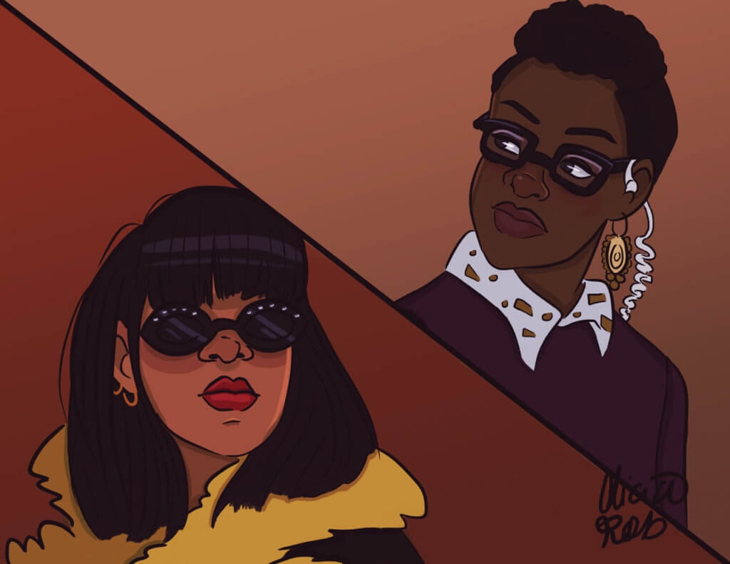 Alicia Robinson Rihanna and Lupita