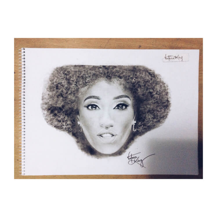 Aphrodija Hair Sketches and Pencil Art