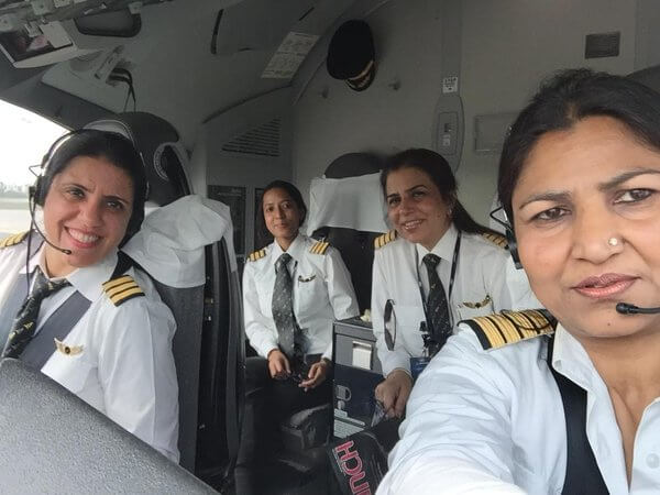 Pilot Nivedita Bhasin