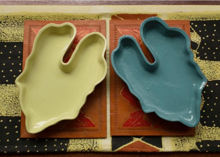 Wavinya Maliti ceramics from pumpkin leaves