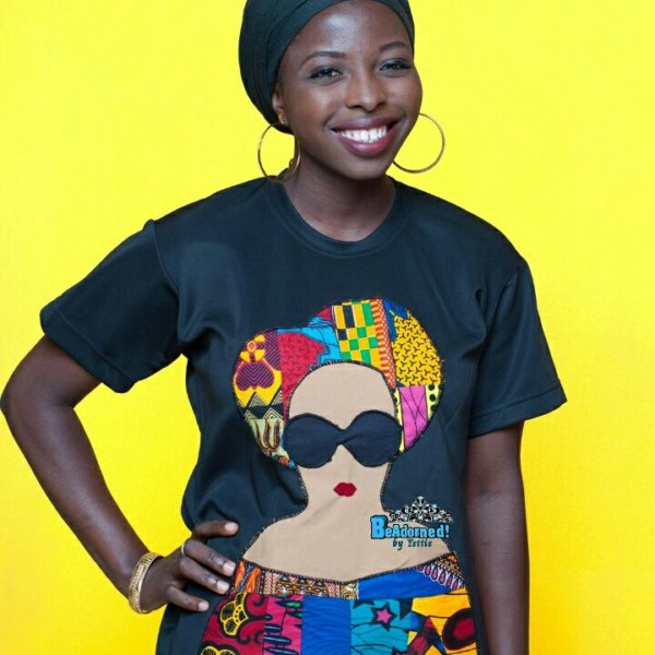 Yetunde Salimon Ankara Mascot and Tees