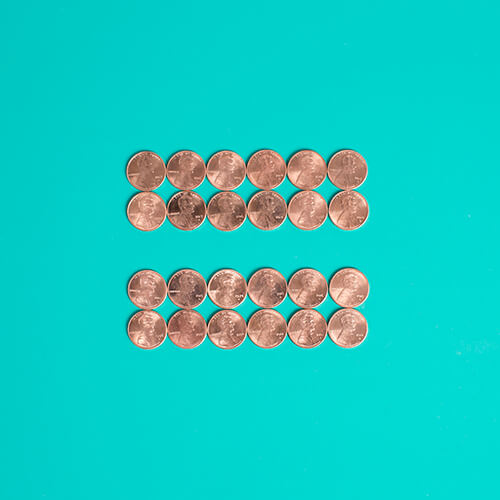 pennies-women equality