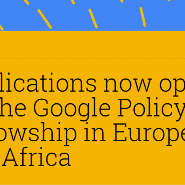Google Policy Fellowship