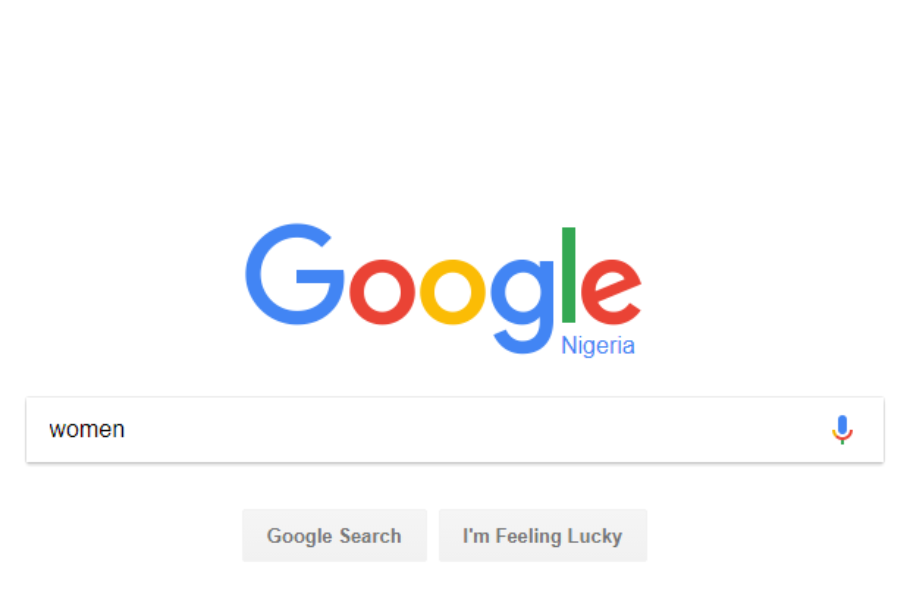 Google Search Women