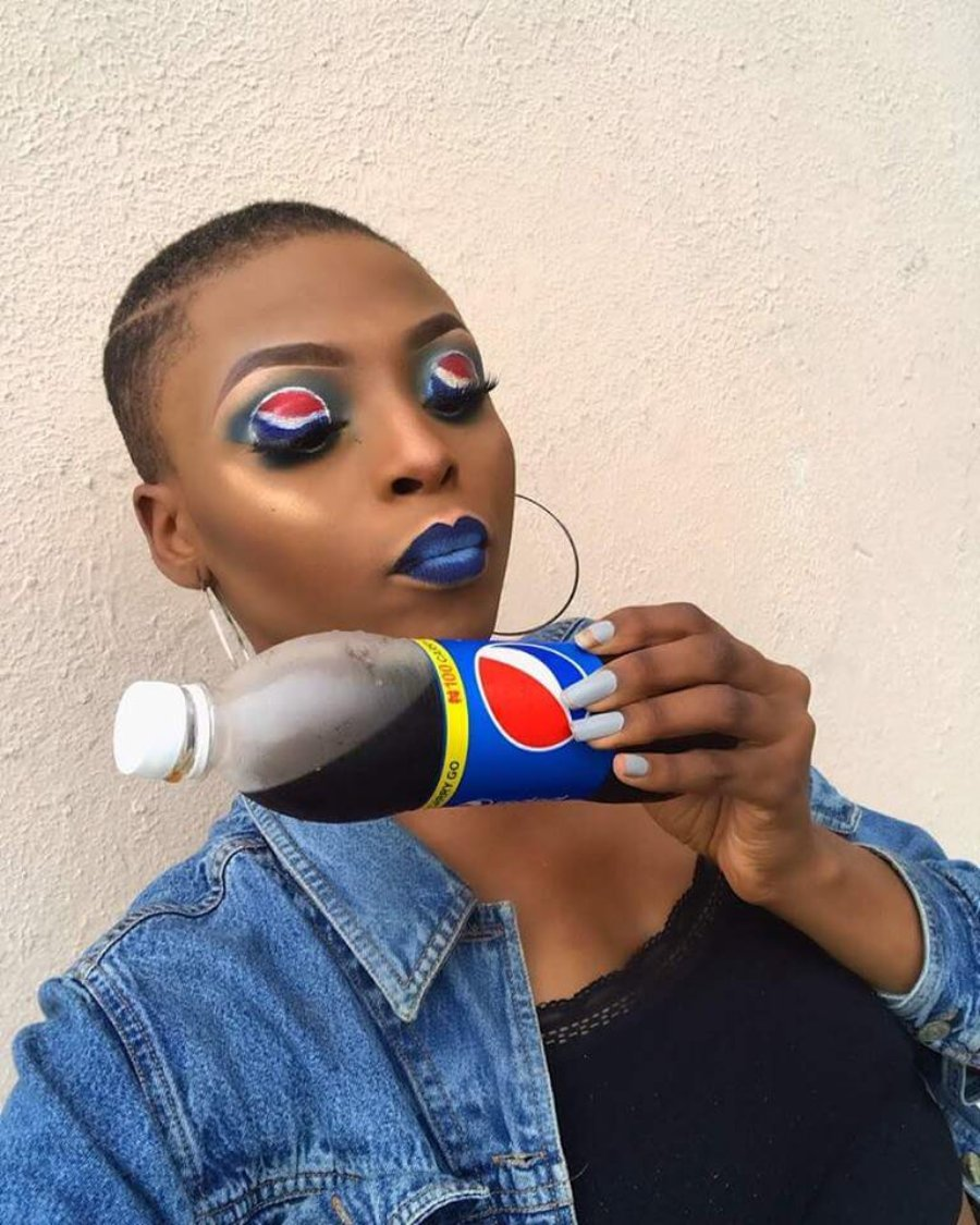 Winifred Chika- Ezeagu Pepsi Makeup