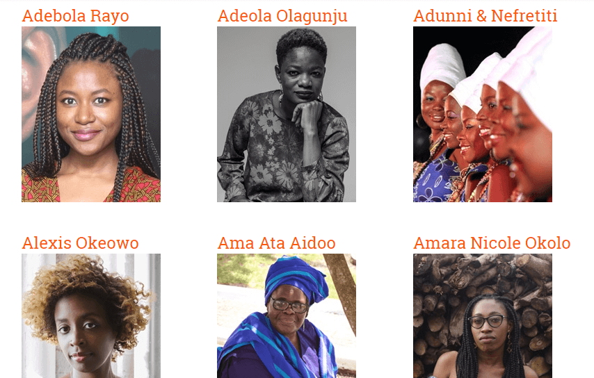 Ake Festival 2017 Guests and Speakers
