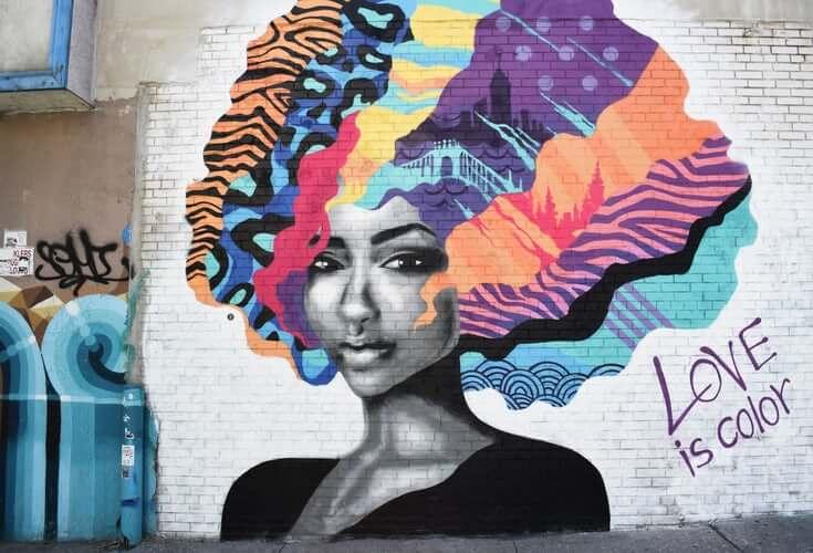 Art woman head - for Somalia