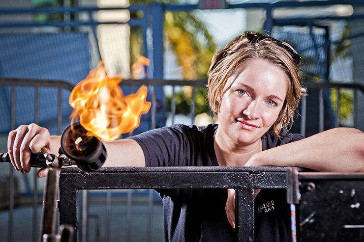 Brenna-Baker-Hot-Art-Glass-Art-Glassblowing