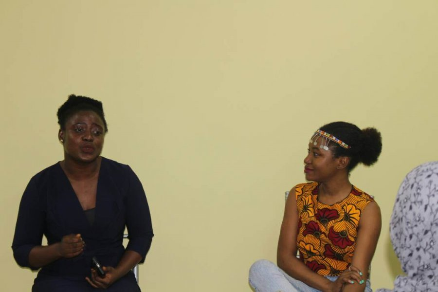 For Creative Girls Meetup - Adeola Osunkojo Speaking