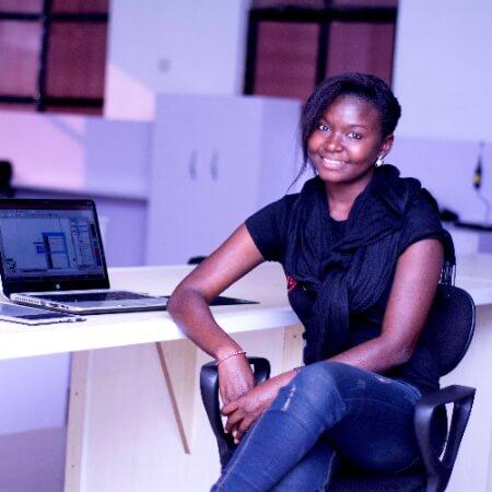 Lilian Galadima - Visual Designer on Handling clients
