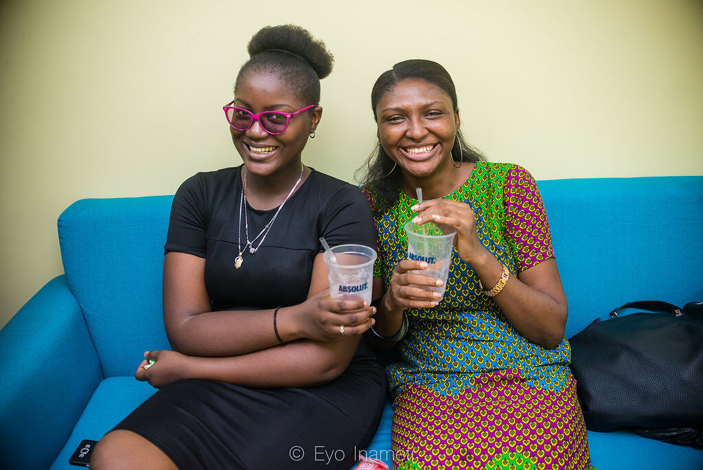 For Creative Girls X Data Oruwari Workshop with Absolut Nigeria