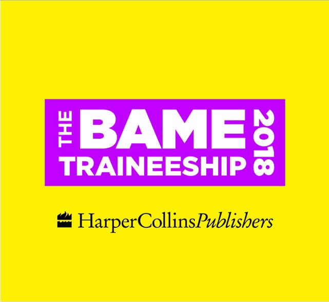 HarperCollins Publishers BAME Traineeship
