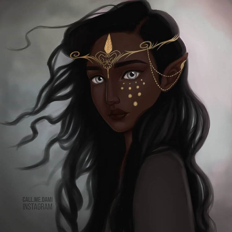 Dami Olaleye --- Female Fairytale and Mystical Characters