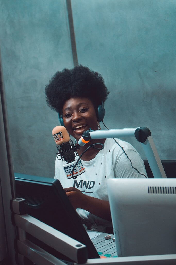 Awazi Angbalaga of Soundcity - Combating Body Shaming in Girls