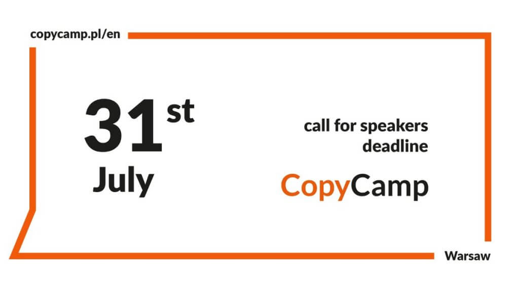 CopyCamp call for speakers