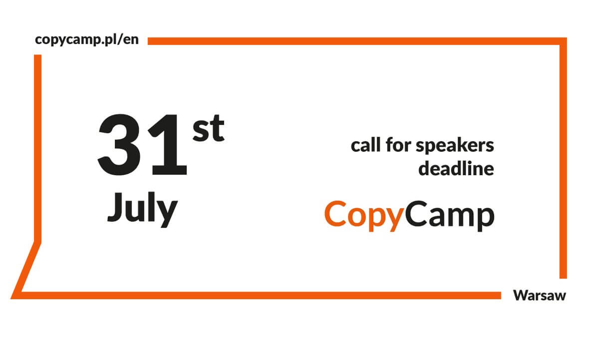 Open Call for Speakers: CopyCamp 2018 - For Creative Girls