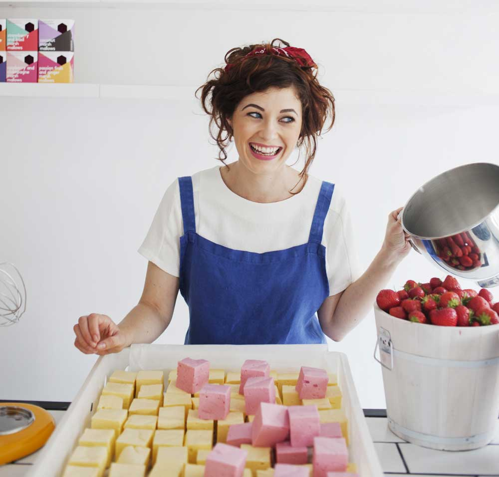 Oonagh Simms - The Marshmallowist - Marshmallows