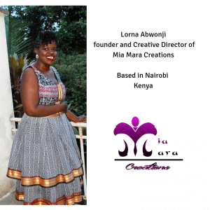 Kenyan Fashion Designer, Lorna Abwonji Shares Her Journey