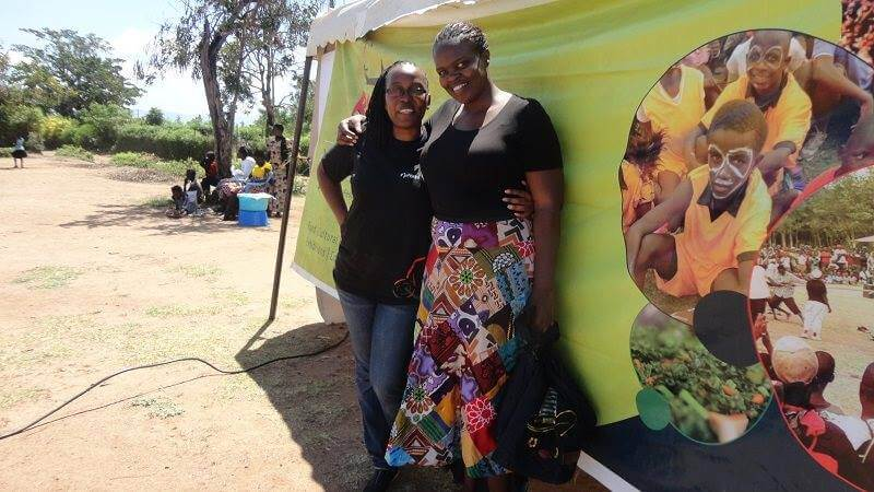 Anne Eboso, The Lady Behind Rusinga Cultural Festival and Lorna Abwonyi