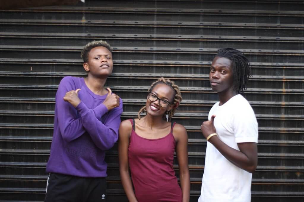 Tatyana with Eric and Meshack 2 - A Glimpse of Kenya's Dance Industry The Tale of Two Dancers