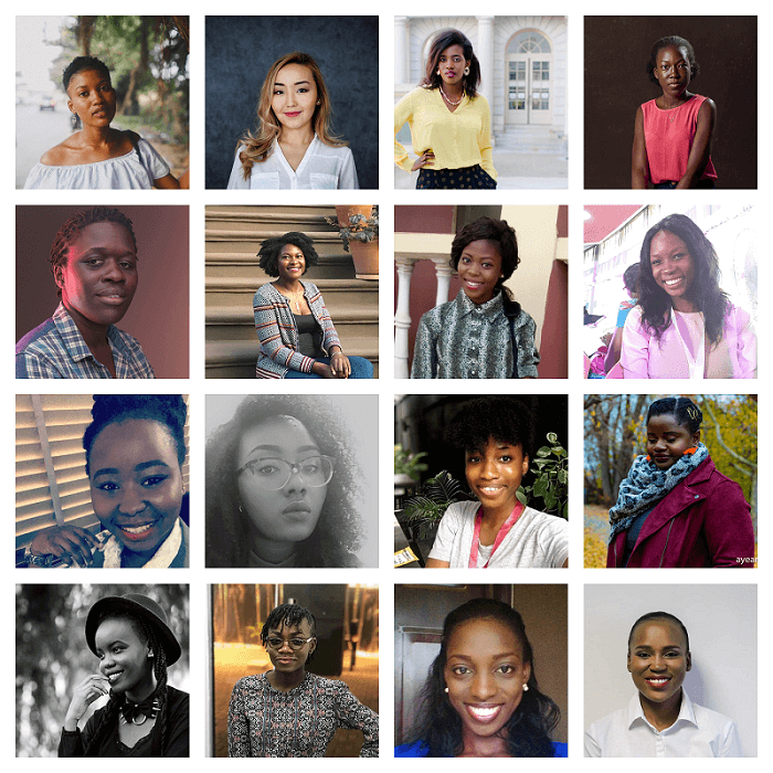 2019 For Creative Girls Mentees collage
