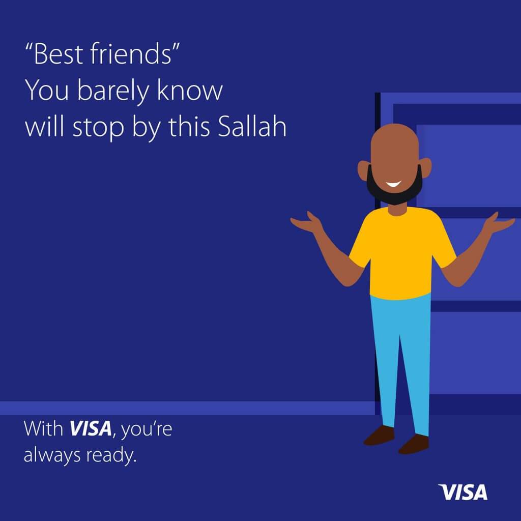 Visa Sallah Ad - Tobi Beckley Williams - Copywriter - Insight