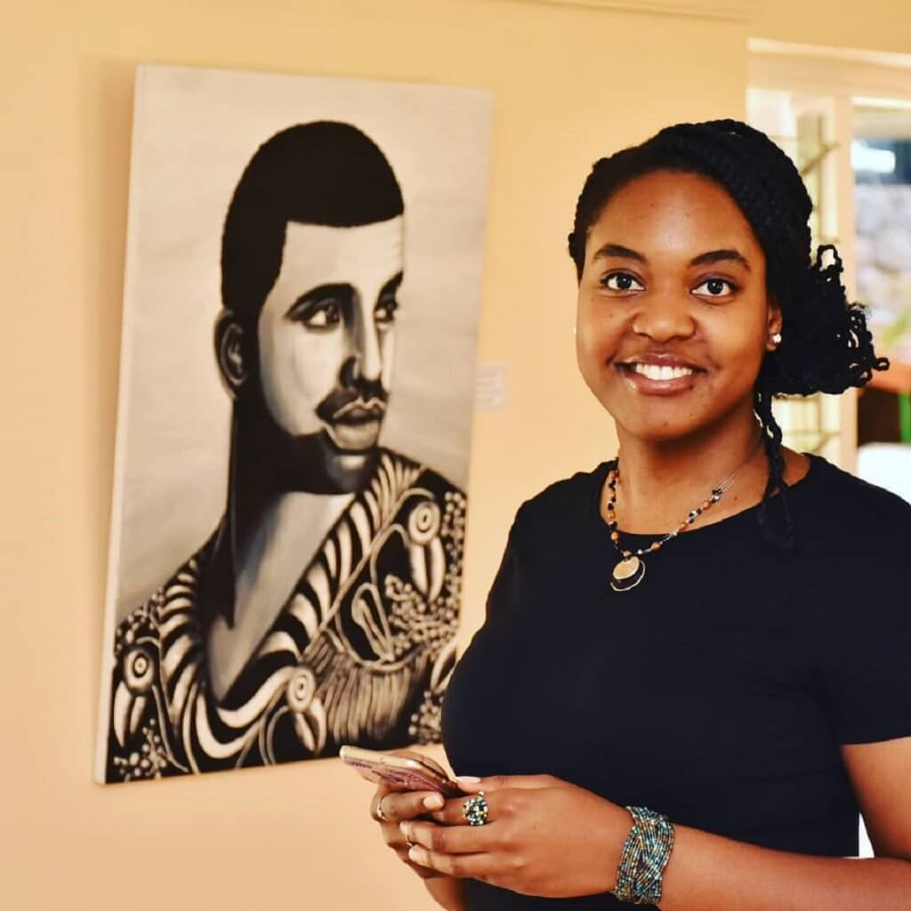 Linda Kemoli Kenyan Artist, and Bold Black Women Empowering Art